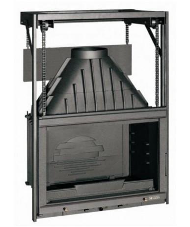Wkład kominkowy LAUDEL 700 Grande Vision gilotyna 6876-50