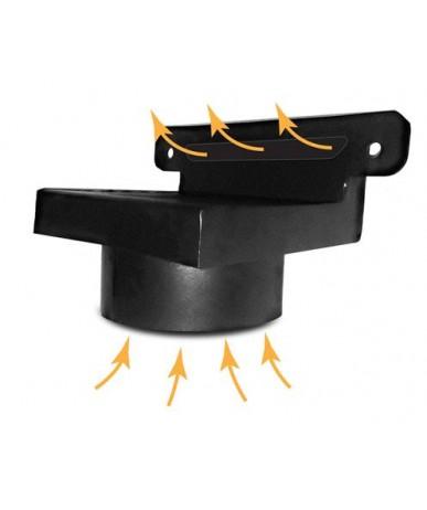 Króciec dolotu powietrza do wkładów Kawmet W16-W17