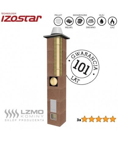 Komin izostatyczny LZMO IZOSTAR premium fi 140 z wentylacją