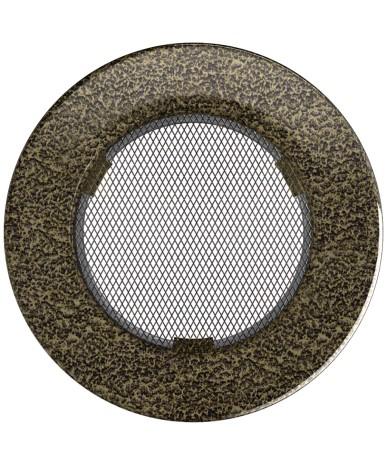 Kratka okrągła Czarno-Złota fi 150