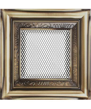 Kratka Rustykalna 22x22 cm z żaluzją