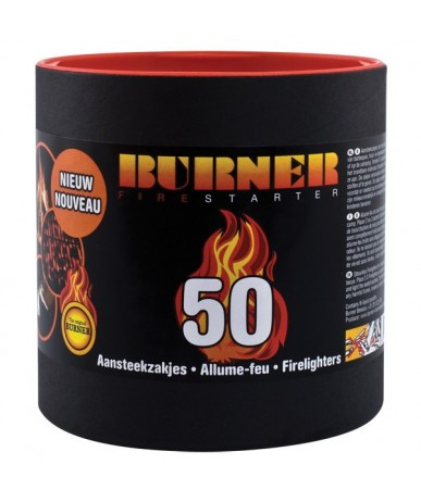 Rozpałka w tubie BURNER 50 szt