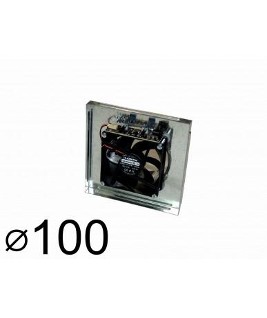 Wentylator kominkowy Q100 do kratki 17x17