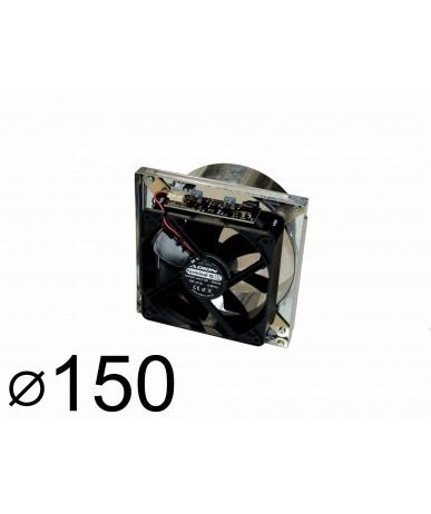 Wentylator kominkowy q150 do kratki 17x17