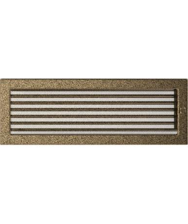 Kratka Czarno-złota 17x49 cm z żaluzją
