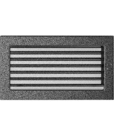 Kratka Czarno-srebrna 17x30 cm z żaluzją