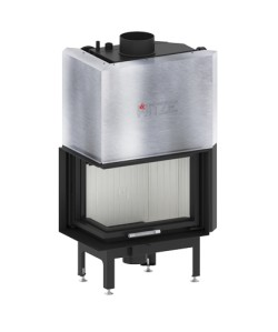 Wkład kominkowy Hitze AQUASYSTEM 54x39 LG/RG