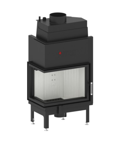 Wkład kominkowy Hitze AQUASYSTEM 59x43 L/R