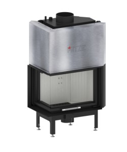 Wkład kominkowy Hitze AQUASYSTEM 59x43 LG/RG
