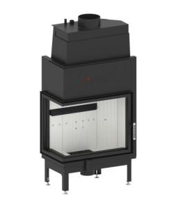 Wkład kominkowy Hitze AQUASYSTEM 68x53 L/R