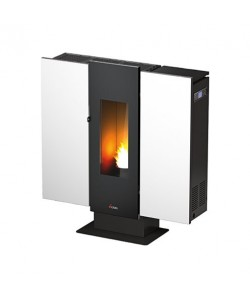 Piecyk na pellet Cadel Wall3 Air Plus blacha 10 kW