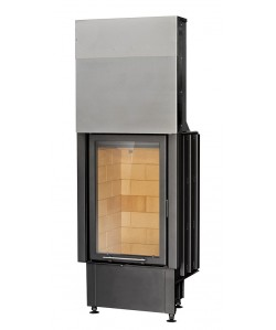 Wkład kominkowy Kobok Vertical VD gilotyna 510/660