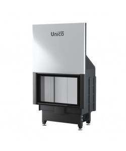 Wkład kominkowy Unico Dragon 4/14 Lift Raster