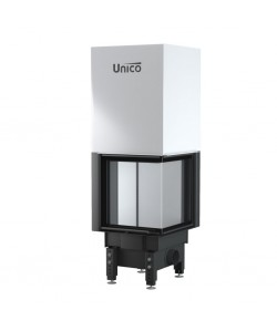 Wkład kominkowy Unico Dragon 8B prawy Lift Raster