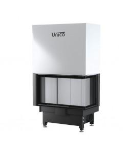 Wkład kominkowy Unico Nemo 4B/20 prawy TopEco Lift Raster