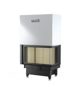Wkład kominkowy Unico Nemo 4B/24 prawy TopEco Lift Modern