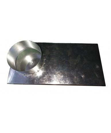 Przejście na profil okrągły (wkłady Kratki) fi 100/125