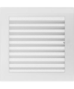 Kratka Biała 22x22 cm z żaluzją