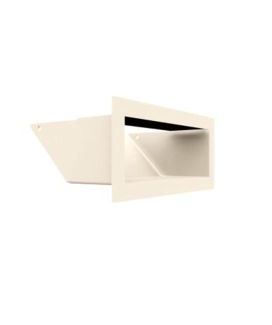 Kratka kominkowa LUFT kremowy 9x20