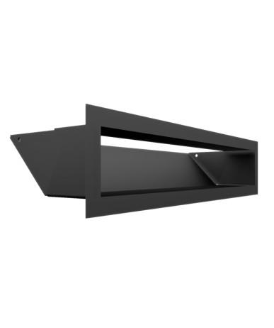 Kratka kominkowa LUFT czarny 9x40