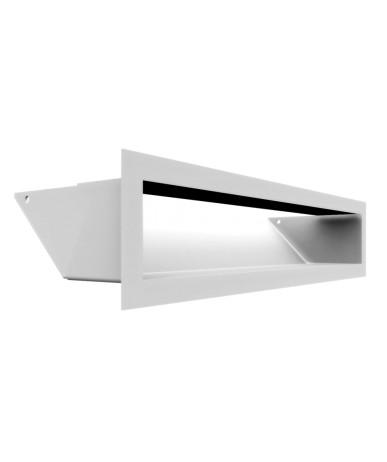 Kratka kominkowa LUFT biały 9x40