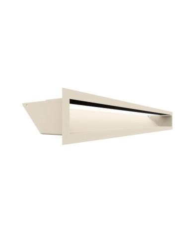 Kratka kominkowa LUFT kremowy 9x80