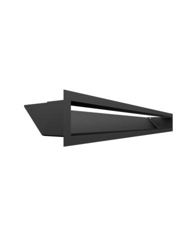 Kratka kominkowa LUFT czarny 9x80