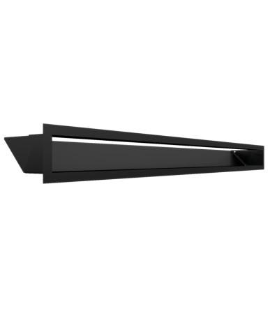 Kratka kominkowa LUFT czarny 9x100