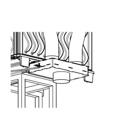 Dolot powietrza SDP do wkładów Kawmet EKO