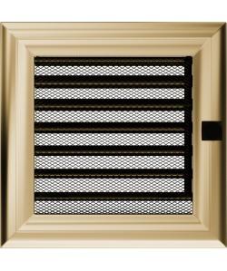 Kratka Oskar złoto 17x17 cm z żaluzją