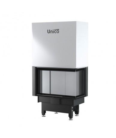 Wkład kominkowy Unico Dragon 2B prawy Lift Raster
