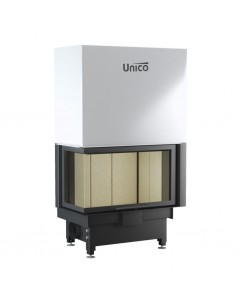Wkład kominkowy Unico Nemo 4B/24 lewy TopEco Lift Modern
