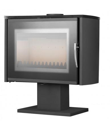 Piecyk stalowy OWCZAREK PW16 dekor Eko 8 kW
