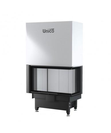 Wkład kominkowy Unico Dragon 4B prawy Slim Lift Raster