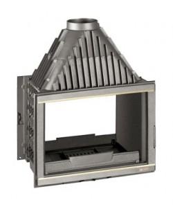 Wkład kominkowy LAUDEL 800 GRANDE VISION dwustronne przeszklenie