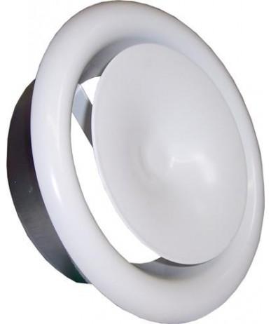 Anemostat DVS-P fi150 kominkowy