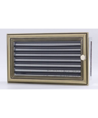 Kratka Retro 17x50 cm z żaluzją