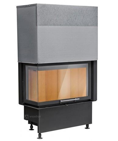 Wkład kominkowy Kobok Corner VD 780/510 BS/380 lewa